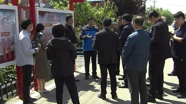 胶州:刘建军到胶北三里河街道调研相关工作