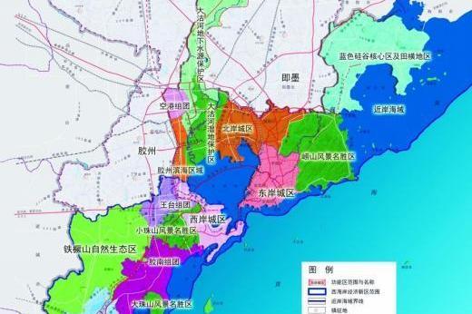 """""""十年磨一剑"""",青岛西海岸新区何以快速崛起?"""