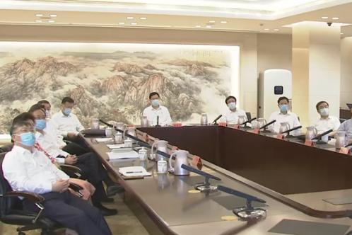 市领导集中收看庆祝中国共产党成立100周年大会