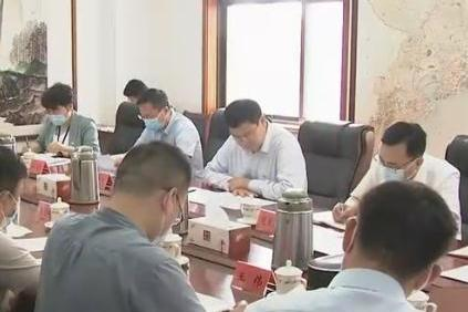 赵豪志参加所在党支部党史学习教育专题组织生活会