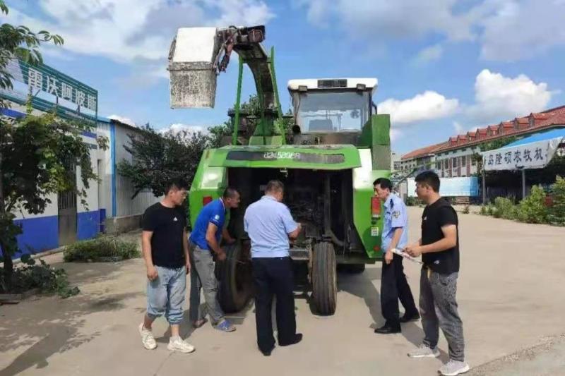 莱西市农业农村局多措并举做好农机安全生产监管服务