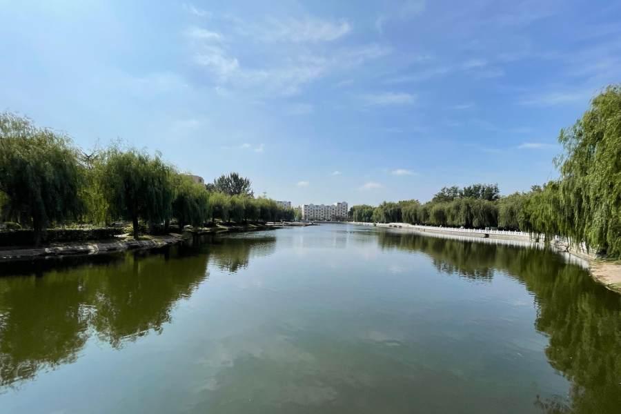 李沧水上公园启动全面整修,10月上旬完工再展美颜