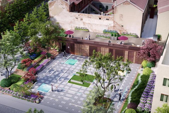 市北易州路广场规划公示,历史街区配套建设再提速