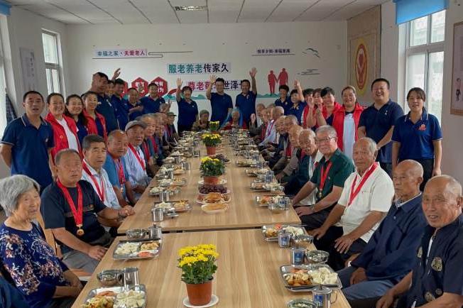 暖心!平度市新河镇开设21家助老大食堂 80岁以上老人免费用餐